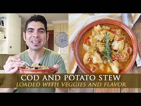 Spanish Cod And Potato Stew Recipe