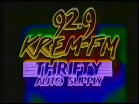 1984 Krem Fm Thrifty Auto Supply Contest Promo