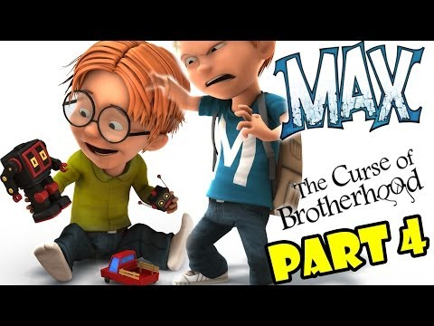 Let's Play Max: The Curse of Brotherhood - Part 4 - Lost In The Dark  (Xbox 1 Gameplay)