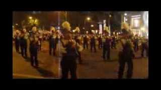 Danvers High School Falcon Band Waikiki Holiday Parade 2011