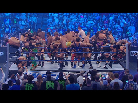 Historical 41-Man Battle Royal: SmackDown, Oct. 14, 2011