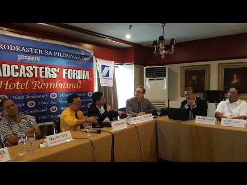 LIGA NG MGA BRODKASTER SA PILIPINAS - BROADCASTERS FORUM, NOVEMBER 16, 2016