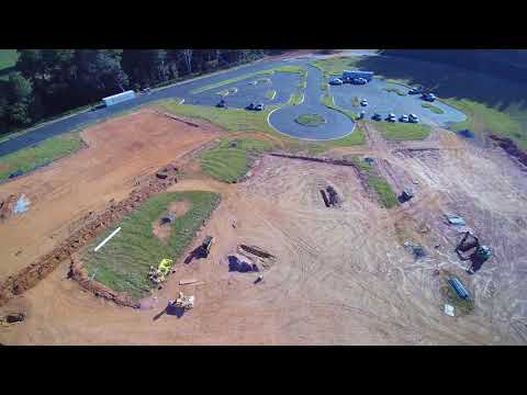 New Fairforest Middle School Site as of Oct 2017