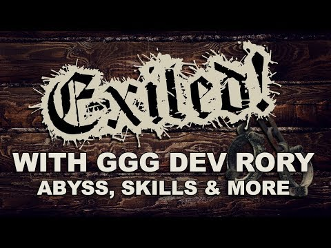 EXILED! with GGG RORY: 3.1 Abyss League, New Skills & Reflect Rework (Path of Exile Podcast)