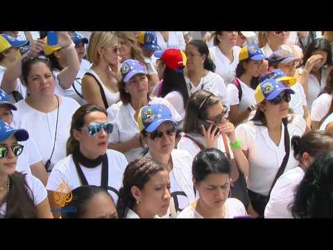 Rival protests grip Venezuela's capital