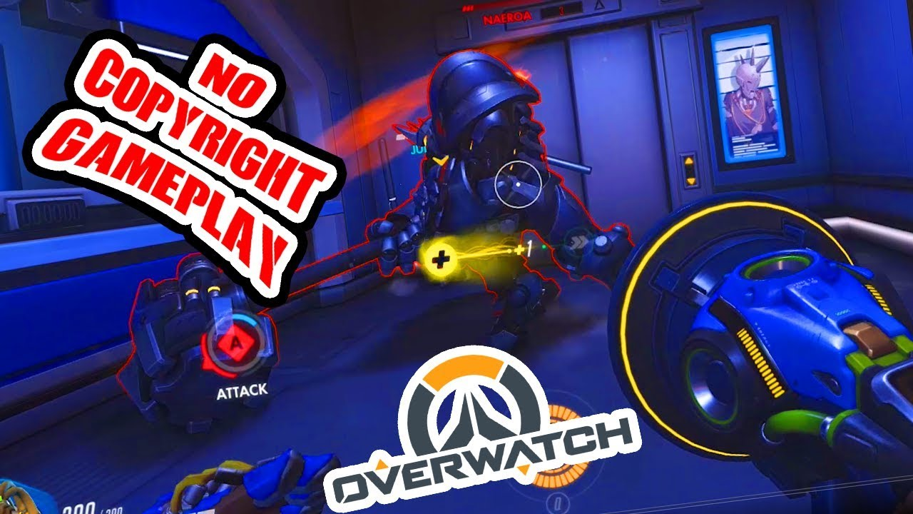 Overwatch No Copyright Gameplay #2 [1440p 60fps][Free to use]