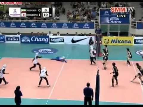 Japan vs Iran - 2014 Asian Women's Club Championship