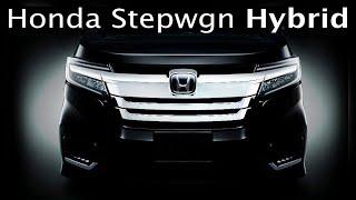 Honda Stepwgn Hybrid.  Тест-драйв и первое впечатление
