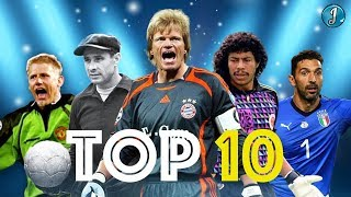 Top 10 Legendary Goalkeepers In Football ● Lev Yashin ● René Higuita ● Oliver Kahn ● & More