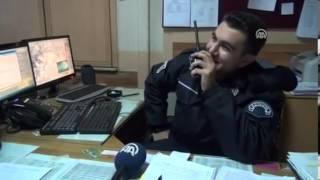 Simav'da Polis Telsizinden Evlenme Teklifi