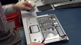 Notebook / Laptop Reparatur HP DV6000 Mainboard austauschen