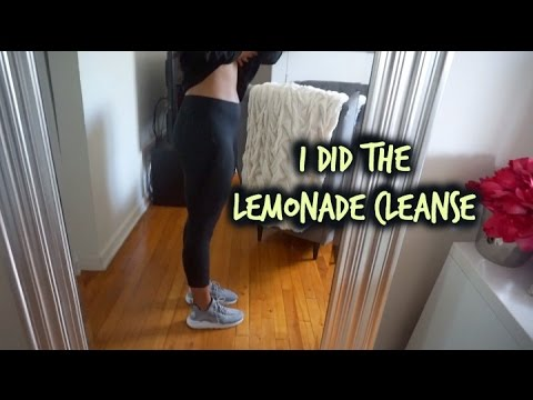 I DID THE MASTER CLEANSE | LEMONADE DIET
