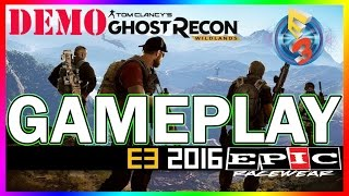 NEW! Ghost Recon Wildlands Gameplay Demo | E3 2016 | Gameplay Demo | Mission Gameplay | Game Footage