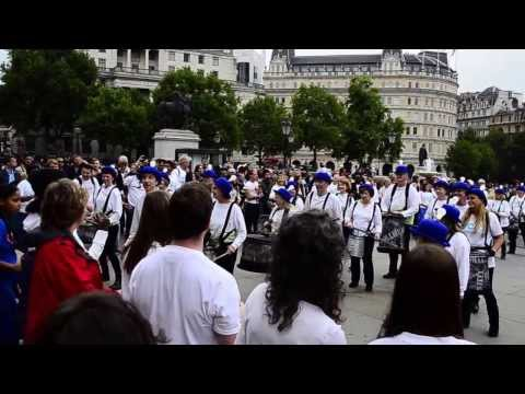 World's Peace Day Flashmob 2013