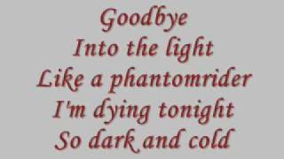 Phantomrider-Tokio Hotel Lyrics