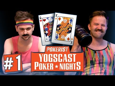 Yogscast Poker Nights | Eighties #1 | Chips and Chairs