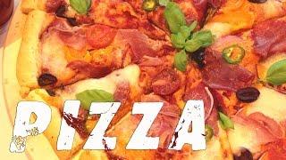 Пицца Домашняя. Тесто для пиццы. Рецепт.