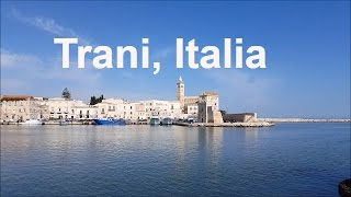 A video of trani in the puglia region italyvideo town which is located italy.trani has lost its old city walls and...