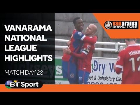 Vanarama National League Highlights Show: Matchday 28