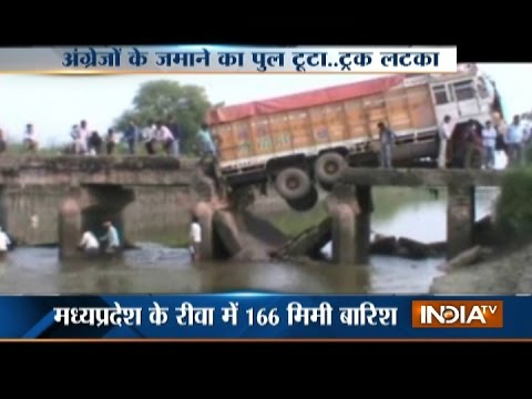 Heavy Rain Leads to Flood; Roads, Bridges Destroyed in Rewa District in MP