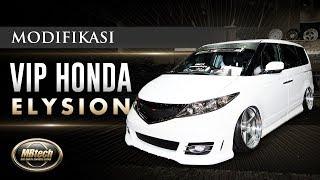Modifikasi Interior VIP Honda Elysion