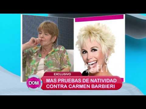 La ex empleada de Carmen Barbieri, presenta más pruebas