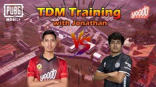 Download lagu DRAXX VS JONATHAN THE BEST CLOSE ENCOUNTER FROM INDIA !! FUN TDM TRAINING | PUBGM MALAYSIA