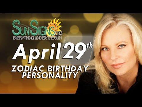 Facts & Trivia - Zodiac Sign Taurus April 29th Birthday Horoscope