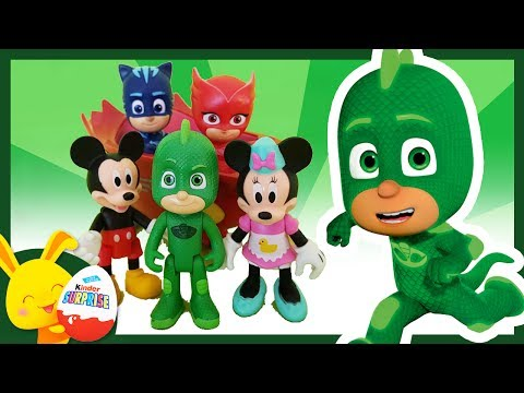 Histoire de Super Heros: Les PYJAMASQUES et Mickey. Yoyo, Gluglu, Bibou. Touni Toys Titounis thumbnail