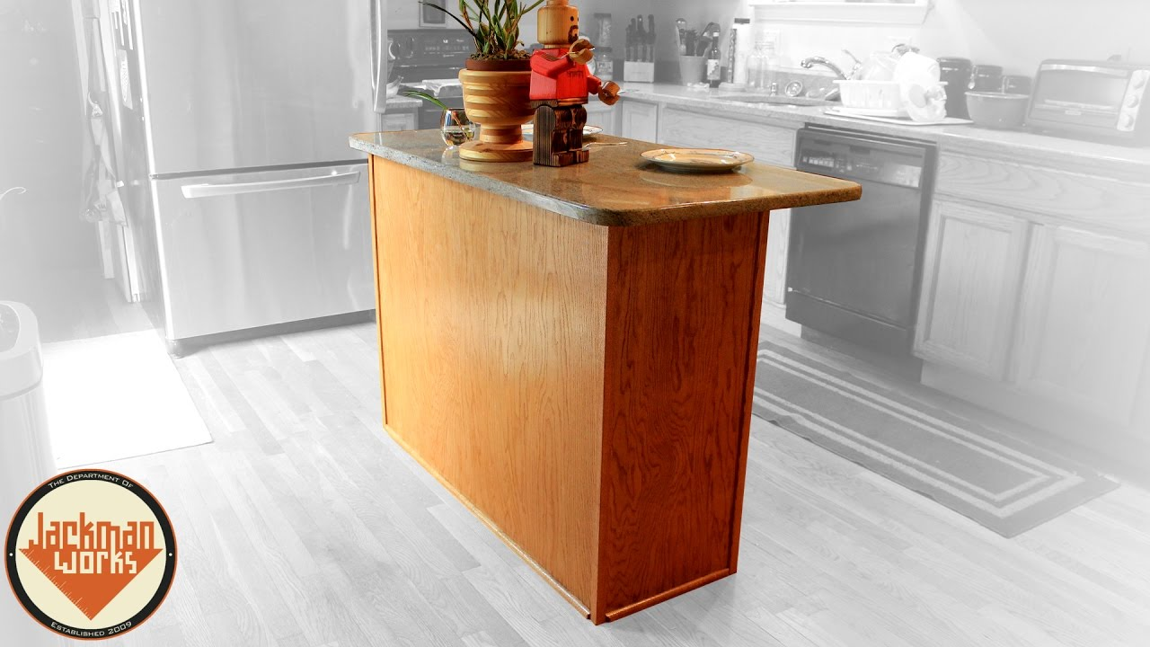 Simple Kitchen Island Build 9 Steps