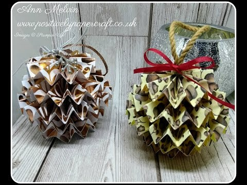 Easy Paper Pine Cone Decoration & Meet My Baby Bunny!!