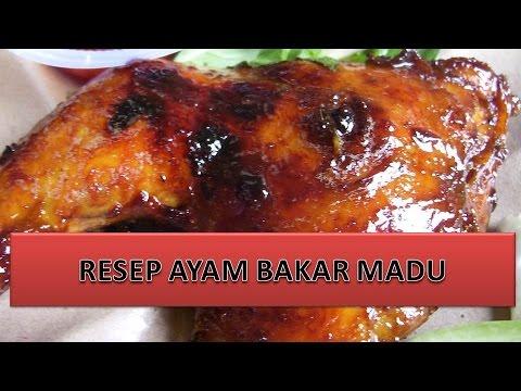 ayam: resepi ayam bakar madu azie kitchen
