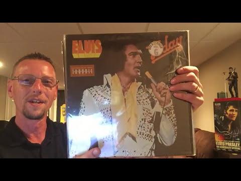 The Elvis Vinyl Guy Contest Prize Unboxing. Elvis Presley LP Records The King's Court