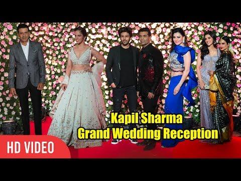 Saina Nehwal, Kriti Sanon, Urvashi Rautela, Manoj Bajpai, Karan Johar at Kapil Sharma Reception
