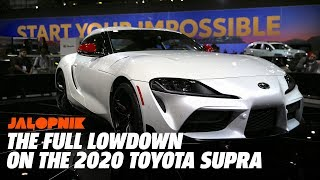 Everything You Need to Know About the 2020 Toyota Supra
