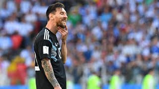 Football: Messi misses penalty as Argentina draw against Iceland