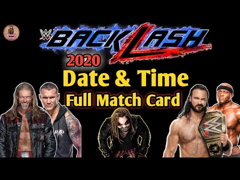 WWE Backlash 2020: Live updates, results and match ratings