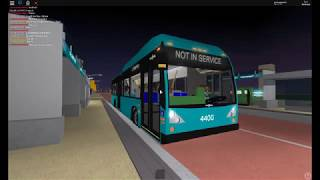 ROBLOX Buses: DTA VanHool A330 #4400 Startup and Takeoff