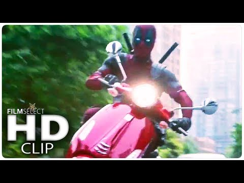 DEADPOOL 2: 4 Clip Dal Film Italiano (2018)