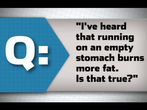 Running on Empty Stomach Good or Bad Runner's World