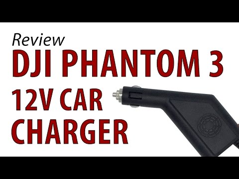 How to Charge a DJI Phantom 3 in the Car with a 12V Charger