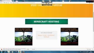 Minecraft Spigot Server Tutorial In Dreams - Minecraft server erstellen lan