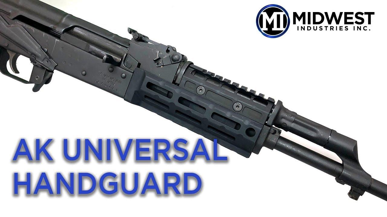 MI-AKG2-UMT1 MI Gen2 AK47/74 Universal Handguard, M-LOK™ Compatible, T1  Topcover