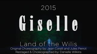 WIDT's Giselle 2015 Land of the Wilis