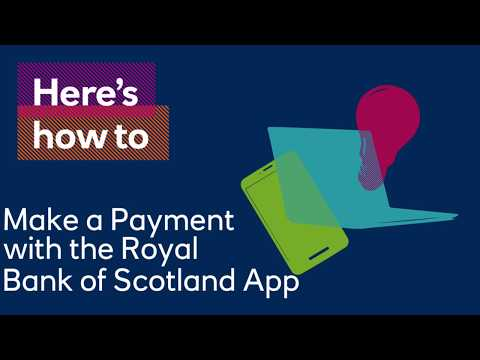 How to Make a Payment using the Royal Bank Mobile App