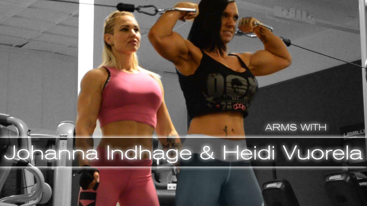 vuorela bodybuilder Heidi