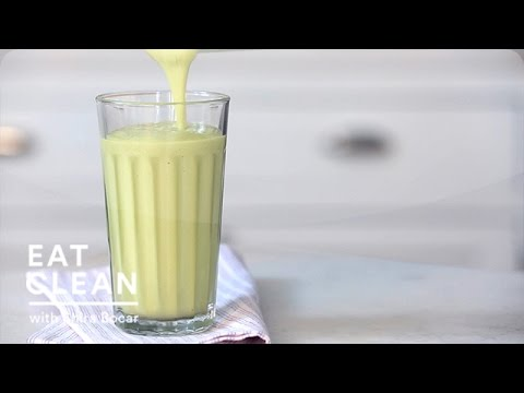 Avocado-Vanilla Pear Juice Smoothie - Eat Clean with Shira Bocar
