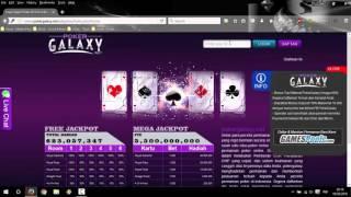 Cara Daftar Poker Galaxy