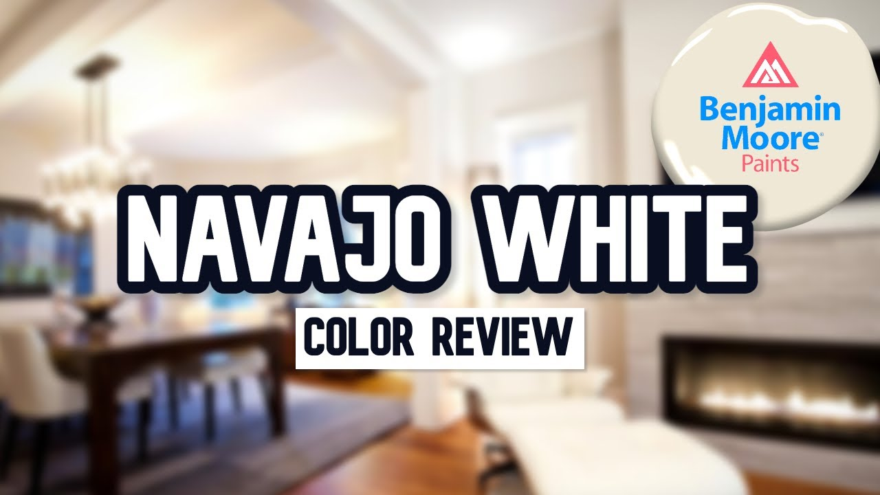 THIS OFF-WHITE IS AWESOME! | Benjamin Moore Navajo White