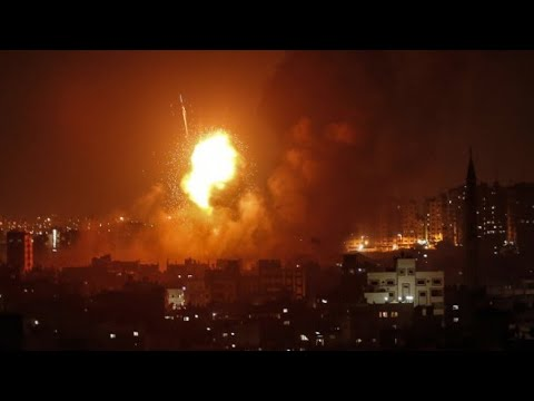 Israel launches deadly strikes in Gaza after rocket attacks